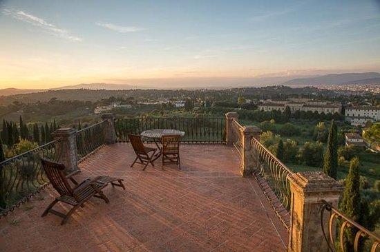 Villa Poggio San Felice : patio in room