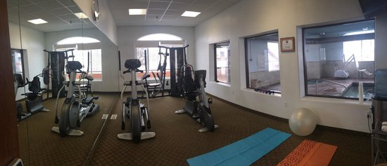 Comfort Inn & Suites Cedar City: Fitness Room