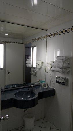 Mercure Besancon Parc Micaud : salle de bain