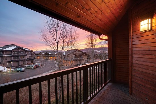 Timber Run Condominiums: Deck & View Example