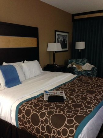 La Quinta Inn & Suites Richmond Midlothian: Well appointed rooms.