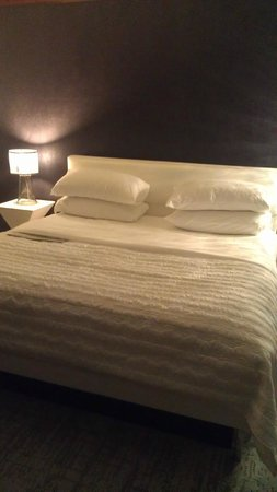 Le Meridien Versailles: The bed.