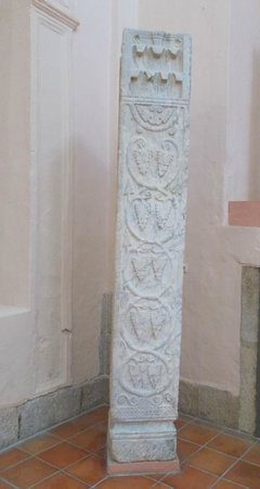 Museo Arqueologico de Arte Visigodo: Visigothic Column