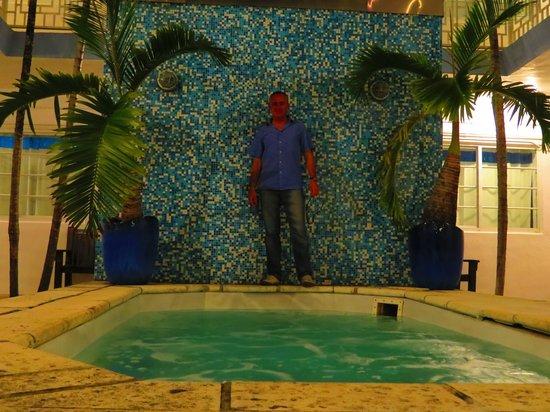 Aqua Hotel and Suites: Jacuzzi