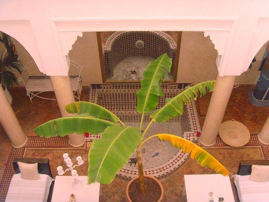 Riad les Orangers d'Alilia Marrakech : Vue du 1er etage  (Annexe les Orangers d'Alilia)