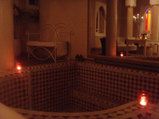 Riad les Orangers d'Alilia Marrakech: Le bassin  (Annexe les Orangers d'Alilia)