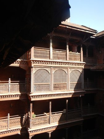 Kantipur Temple House: Inner Courtyard