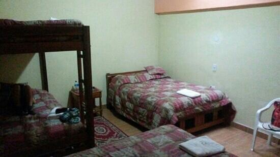 Hotel Villa Santa Clara : family room