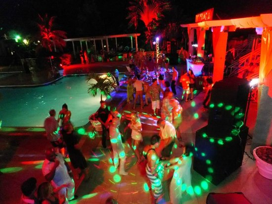 Hedonism II: night time pool party