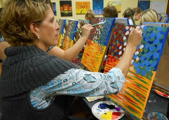Pinot's Palette: Painting