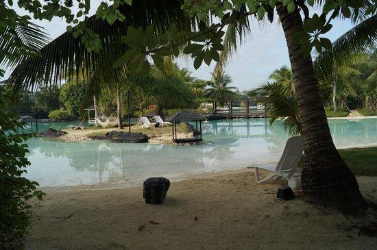 Plantation Bay Resort And Spa: 部屋からの景色