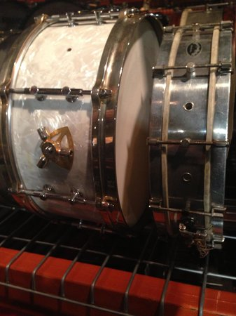Rhythm! Discovery Center: A Gladstone snare drum