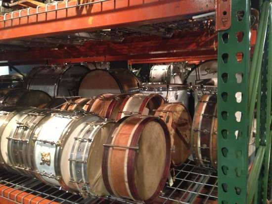 Rhythm! Discovery Center: Vintage drums galore