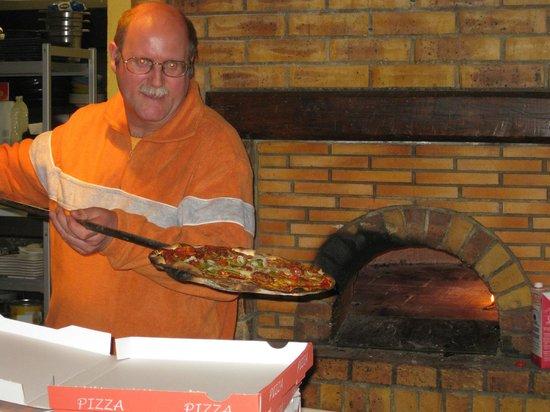 L'Amaryllis: rudy mocht zelf een pizza uit de oven halen