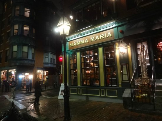 Mamma Maria : Mama Maria on a quiet foggy night makes you think you're in the 1700s.