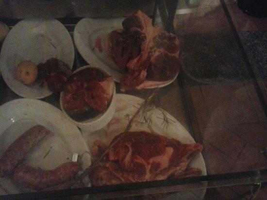 Villa Antigone : Carne