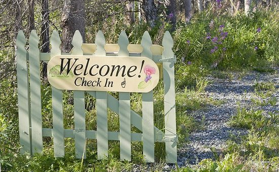 Alaska Garden Gate B & B: Welcome