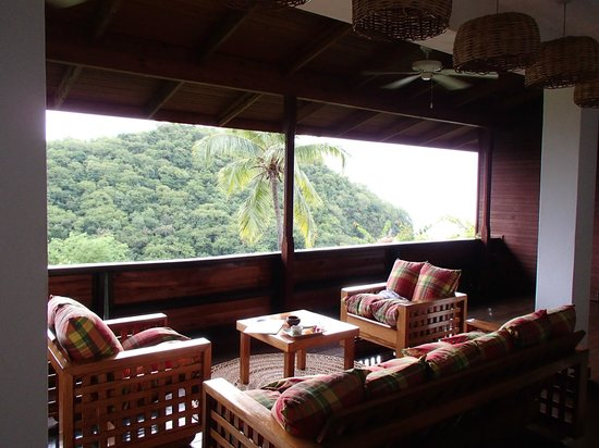 Anse Chastanet : Porch in room 7D