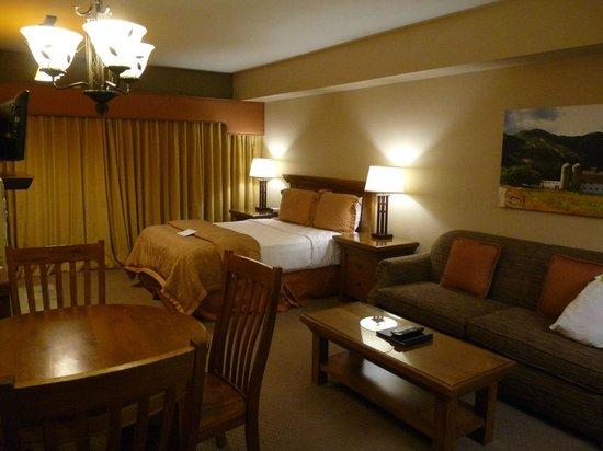 Park Plaza Resort: Schlafbereich der Suite