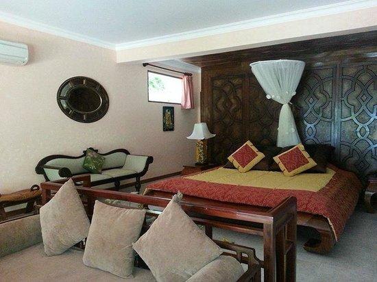 Takalau Resort: Bedroom
