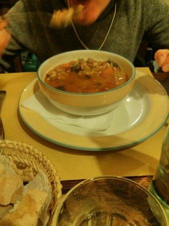 Zio Gigi: minestra di verdure fresche e riso