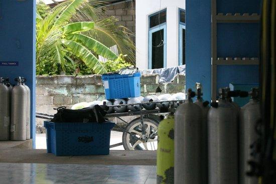 Maafushi Dive & Water Sports : utstyr
