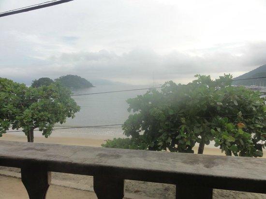 Pousada Mar Azul: Vista desde el comedor