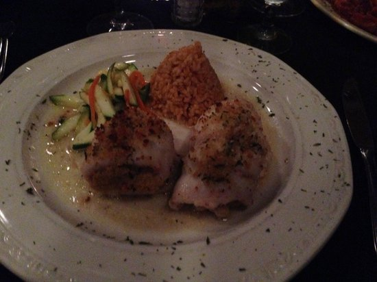 Mountain Lakes, Nueva Jersey: Filet of Sole Stuffed With Crab Meat