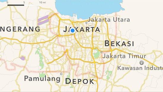 Hotel Ciputra Jakarta: Location