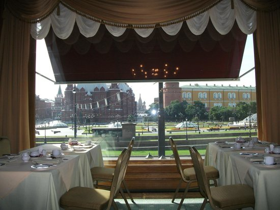 Hotel National, a Luxury Collection Hotel: завтрак в ресторане