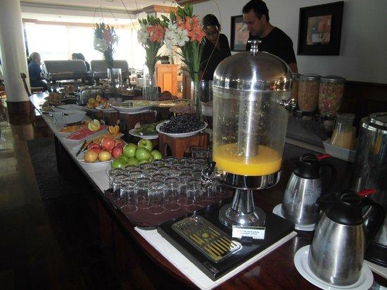 Radisson Colonia del Sacramento Hotel: cafe da manha requintado e farto