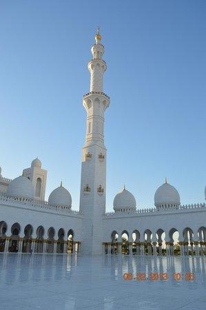 Mezquita Sheikh Zayed: mezquita desde afuera