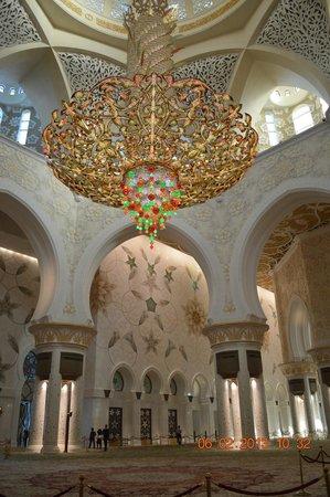 Mezquita Sheikh Zayed: descomunal