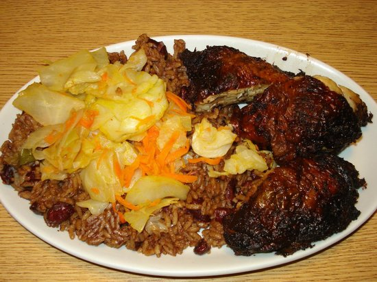 Tiebdjen national dish in senegal fish cabbage for Afro caribbean cuisine