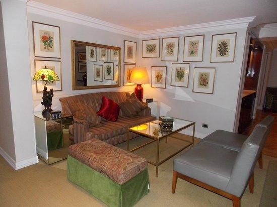 Le Rêve Boutique Hotel: Sala de estar