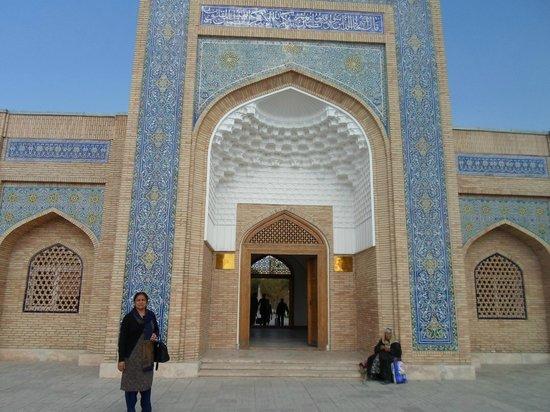 Bakhautdin Naqsband Mausoleum: Architecture