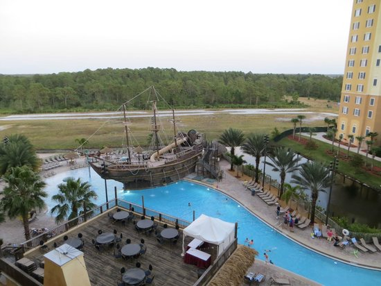 Lake Buena Vista Resort Village & Spa: View from our balcony
