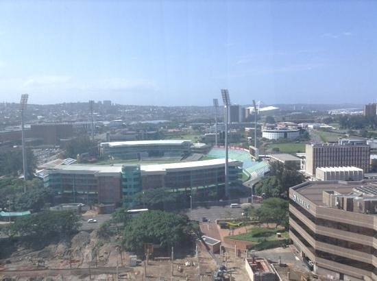 Hilton Durban: view from my roo