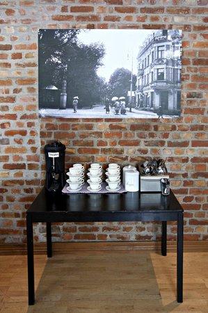 Hotel Fredrikstad : Tea and coffee