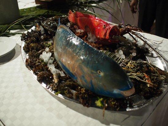 Dongwe Club: Pesce pappagallo ... una delizia per il palato !
