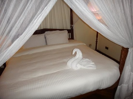 Safari Park Hotel: Swan Decoration