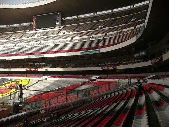 Vista de las puertas de entrada a las tribunas picture for Puerta 1 estadio azteca