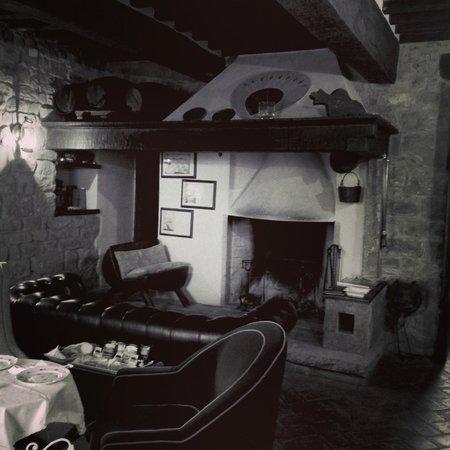Castellare De' Noveschi: Chimenea