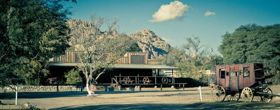 Triangle T Guest Ranch: The Rock Saloon & Restaurant onsite