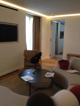 Hotel Marignan Champs-Elysées : lounge