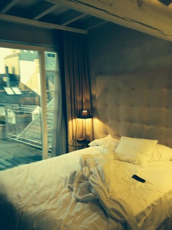 Le Place d'Armes Hotel : THE BEDROOM ON THE TERRACE