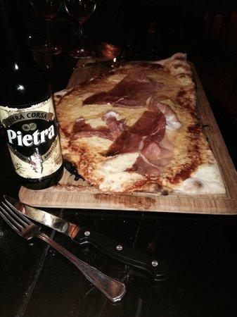 le papacionu : Pizza et bière Corse à la châtaigne
