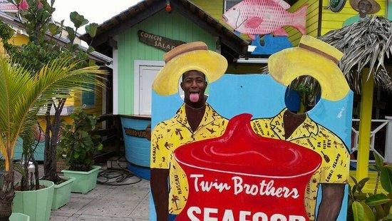 Twin Brothers Restaurant : Haha