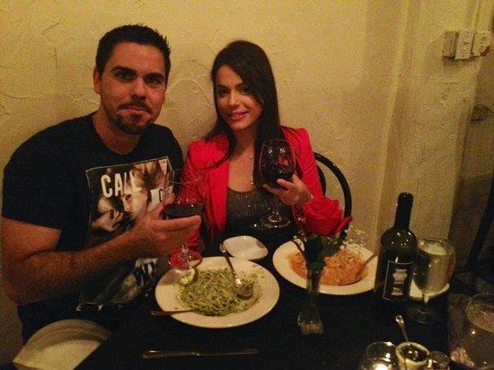 Vino E Pasta: Romantic dinner with wife