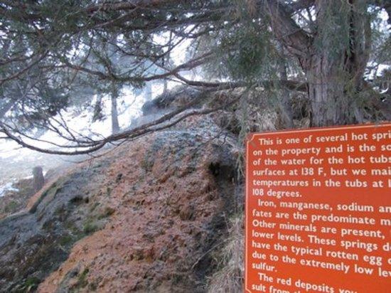 Box Canyon Lodge & Hot Springs: Hot Springs